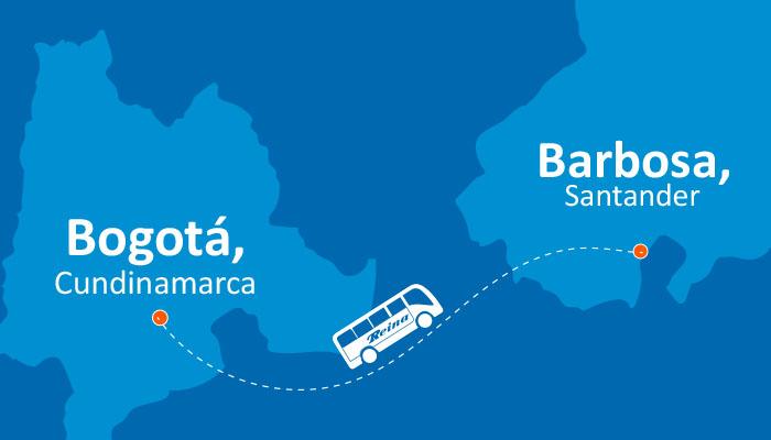 Recorre la ruta Bogotá Barbosa