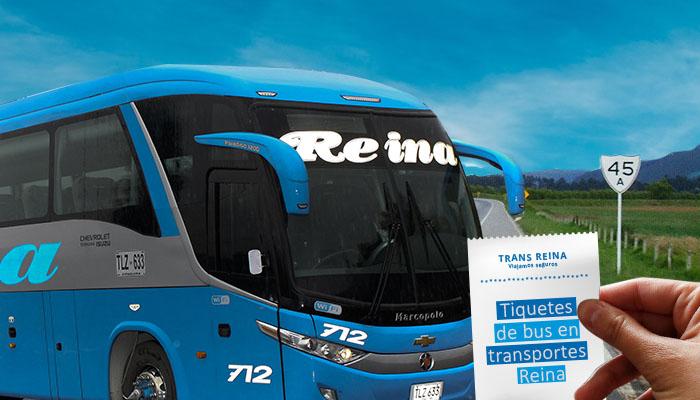 Tiquetes de bus: Transreina, 50 años al servicio de pasajeros